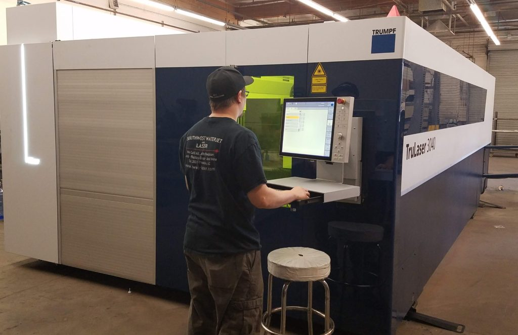 southwest waterjet and laser trulaser3040