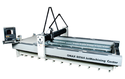 OMAX 80160 Waterjet used at Southwest Waterjet in Mesa, AZ.